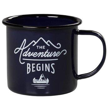 Wild & Wolf Enamel Mug The adventure begins