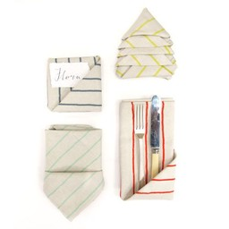 Skinny laMinx Napkins Simple Stripe