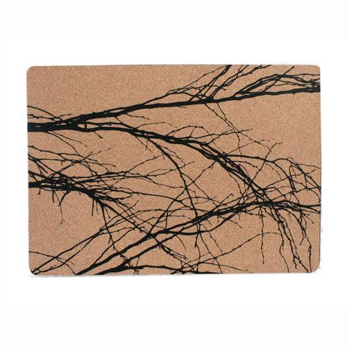 Cork Placemat Branch