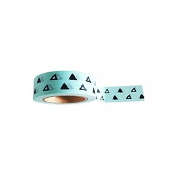 Studio stationery Washi tape Minty triangle