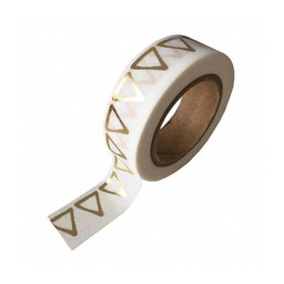 Studio stationery Washi tape Gold foil triangle