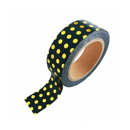 Studio stationery Washi tape Gold foil dots