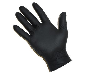Abena Nitrile Gloves Black