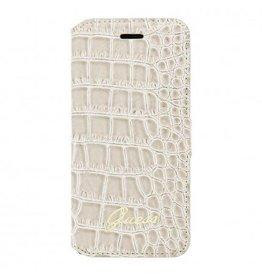 Guess Book Case Shiny Crocodile Apple iPhone 6(S)  (4,7) - Beige