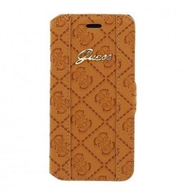 Guess iPhone 6 / 6S Heritage Book-Type Case bruin