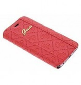 Guess iPhone 6 / 6S Heritage Book-Type Case rood