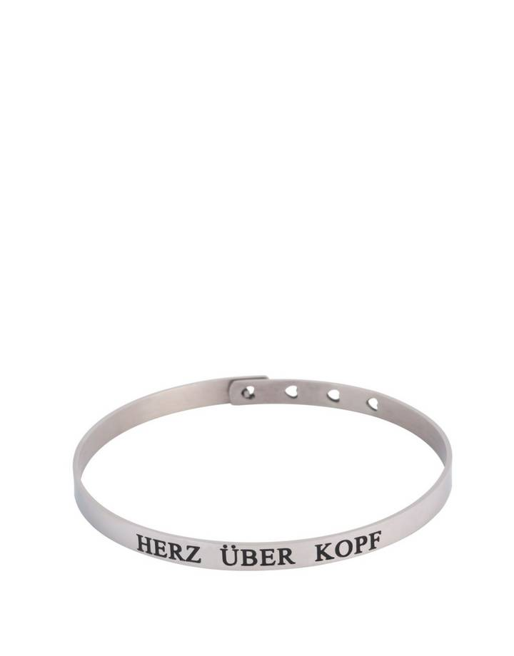 Spruchketten by Lieblichkeiten Sprucharmband Herz Über Kopf