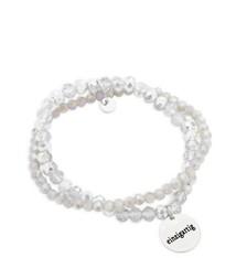 Spruchketten by Lieblichkeiten Perlenarmband einzigartig