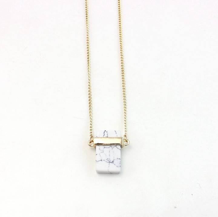 Riadlifestyle Marble necklace
