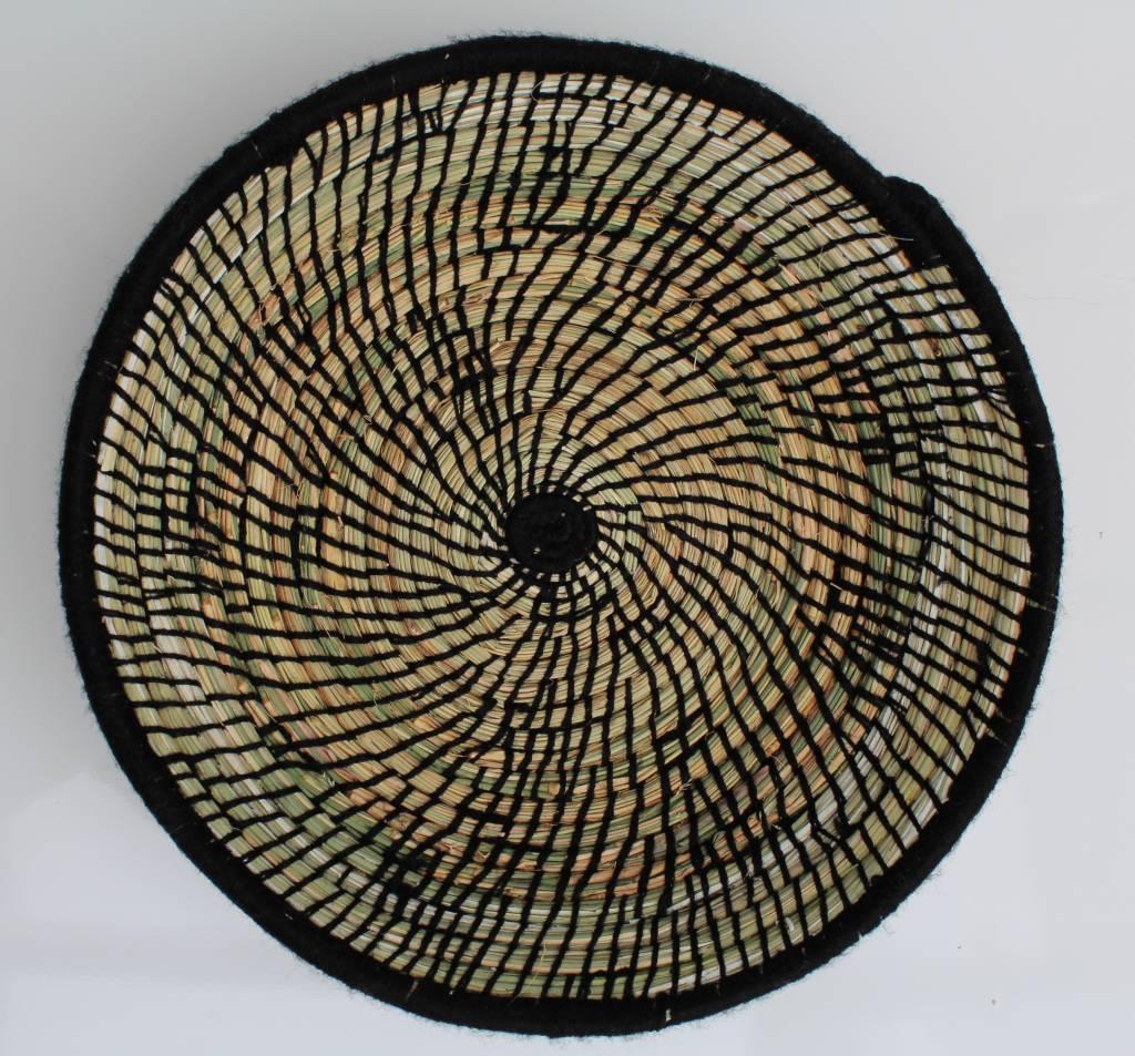 Riadlifestyle Moroccan bread basket black