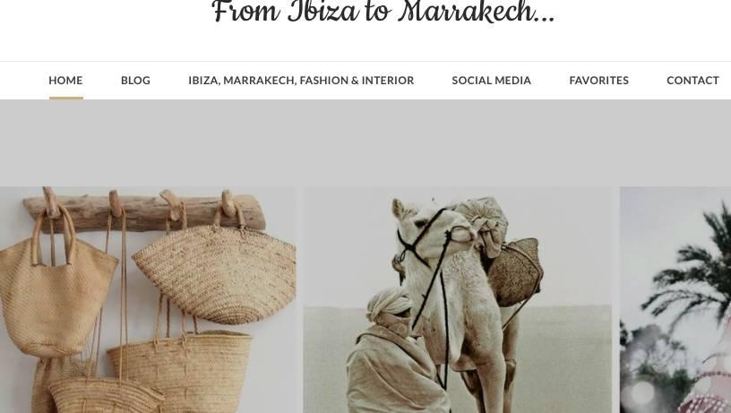 From Ibiza to Marrakech!