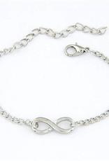 Riadlifestyle Infinity Armbandje zilver