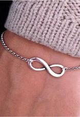 Riadlifestyle Infinity bracelet silver