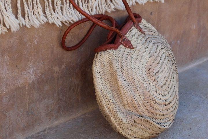 Riadlifestyle Moroccan wicker basket