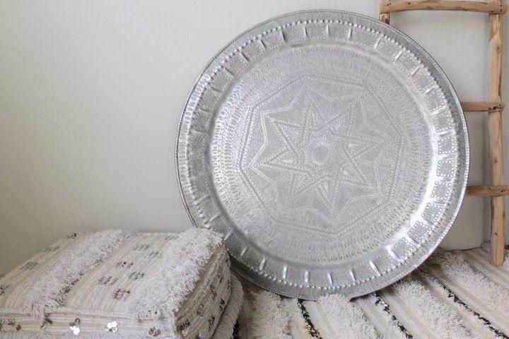 Riadlifestyle Moroccan vintage tray XXL
