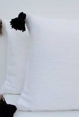 Riadlifestyle Pom Pom cushion White - beige