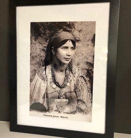 Riadlifestyle Art deco Poster Berber woman