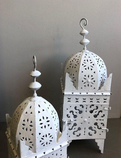 Riadlifestyle Marokkaanse Lantaarn XL White
