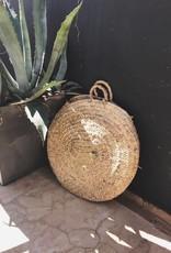 Riadlifestyle Marokkaanse rieten tas