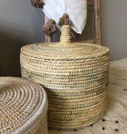 Riadlifestyle Moroccan basket  Naturel small