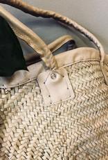 Riadlifestyle Moroccan wicker basket beige