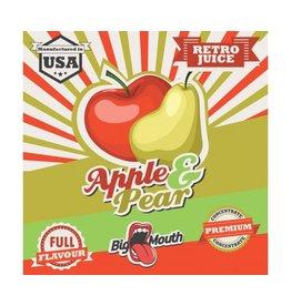 Retro Big Mouth Juice Flavour - Apfel & Birne