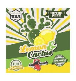 Retro Big Mouth Saft Flavour - Lemon & Cactus