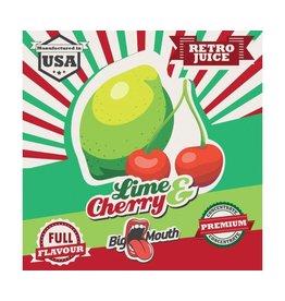 Retro Big Mouth Juice Flavour - Lime & Kirsche