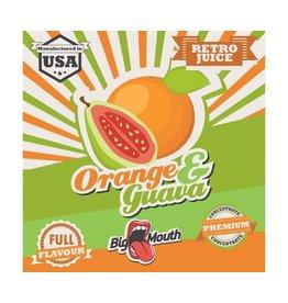 Retro Big Mouth Juice Flavor - Orange & Guava