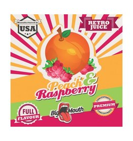 Retro Big Mouth Juice Flavour - Peach & Himbeere
