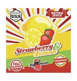 Big Mouth Retro Juice Aroma - Strawberry & Lemon