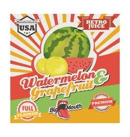 Retro Big Mouth Saft Flavour - Watermelon & Grapefruit