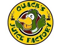 Quack in der Saftfabrik