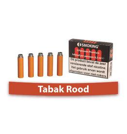 E-Smoking Refill Tabak Rood