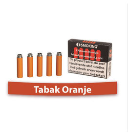 E-Refill Tobacco orange Raucher