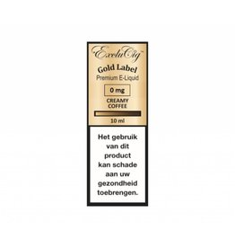 Exclucig Gold Label Creamy Coffee