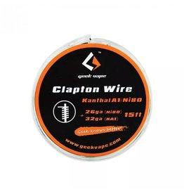 5 mt GeekVape Clapton Zerstäuber DIY Kanthal KA1 / Ni80 Band Draht (26GA Ni80 + 32GA)