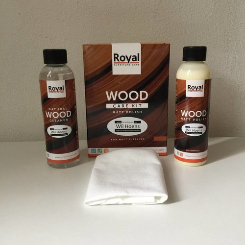 Oranje BV Wood care kit Matt Polish