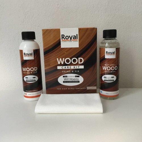 Oranje BV Wood care kit Shine en Fix