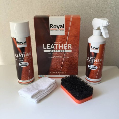 Oranje BV Leather care kit for brushed leather
