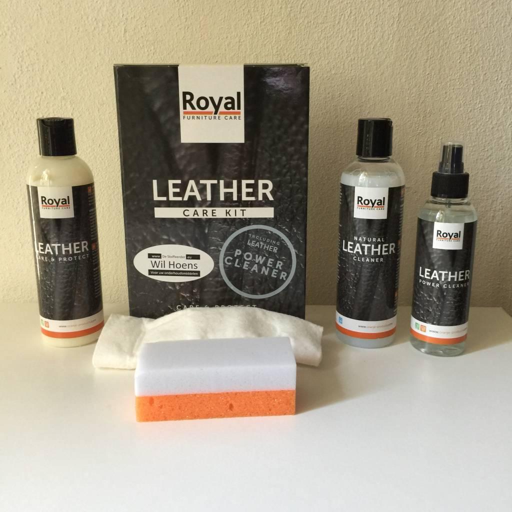 Leather Care Kit Met Power Cleaner Destoffeerder Eu De