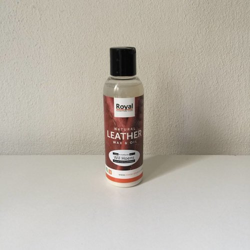 Oranje BV Naturel Leather wax en oil 150 ml