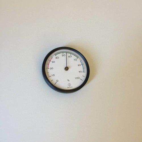 Oranje BV Hygrometer rond