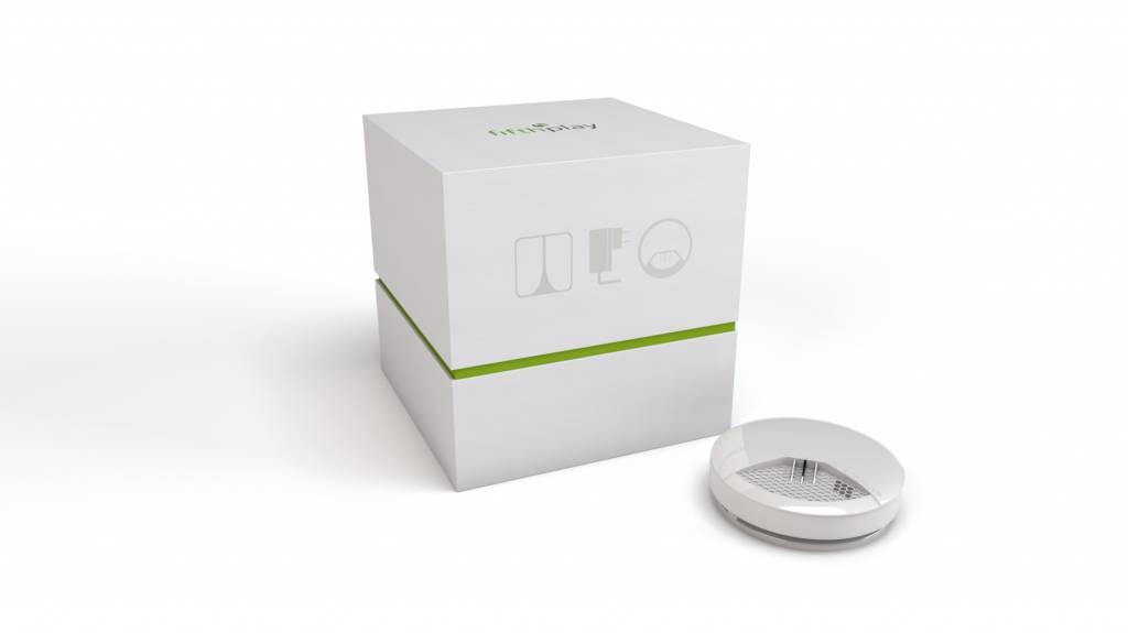 fifthplay cube - détecteur de fumée