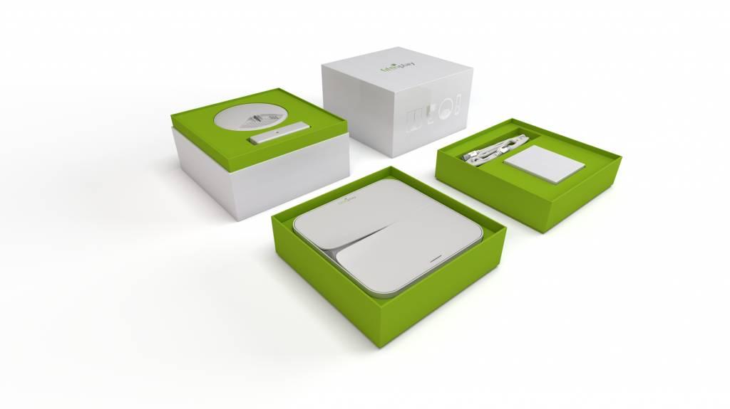 fifthplay cube - détecteur de fumée & capteur d'eau