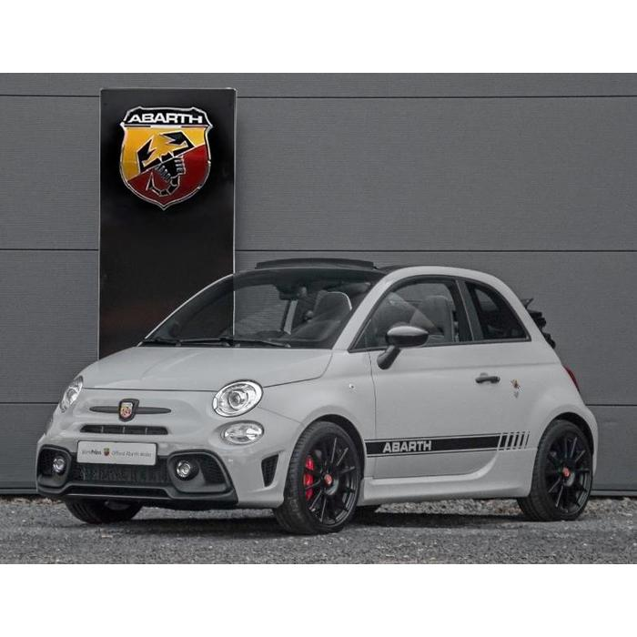 Set zwarte stickers Abarth