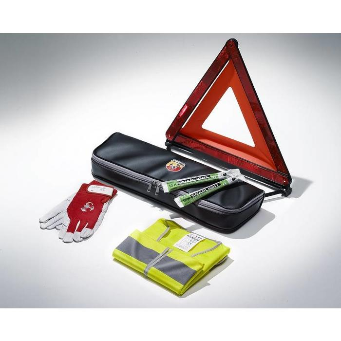Emergency kit voor de Abarth