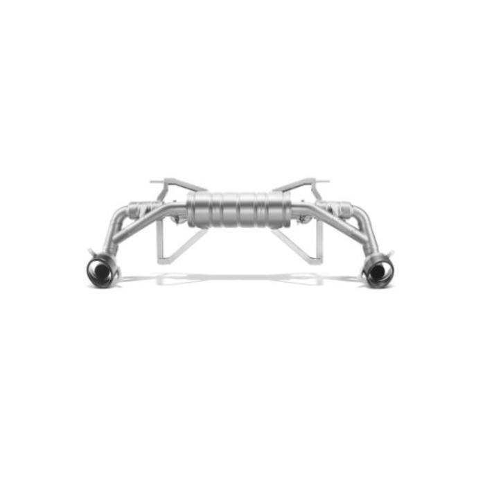 Audi R8 Akrapovic Slip-On Line Titanium