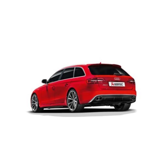 Akrapovic Evolution Line Titanium voor de Audi RS4