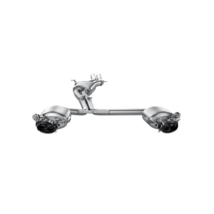 Akrapovic Evolution Line Titanium voor de Audi RS5